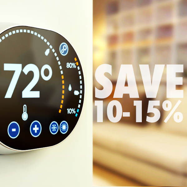 Adding a smart thermostat to your home can save you 1015