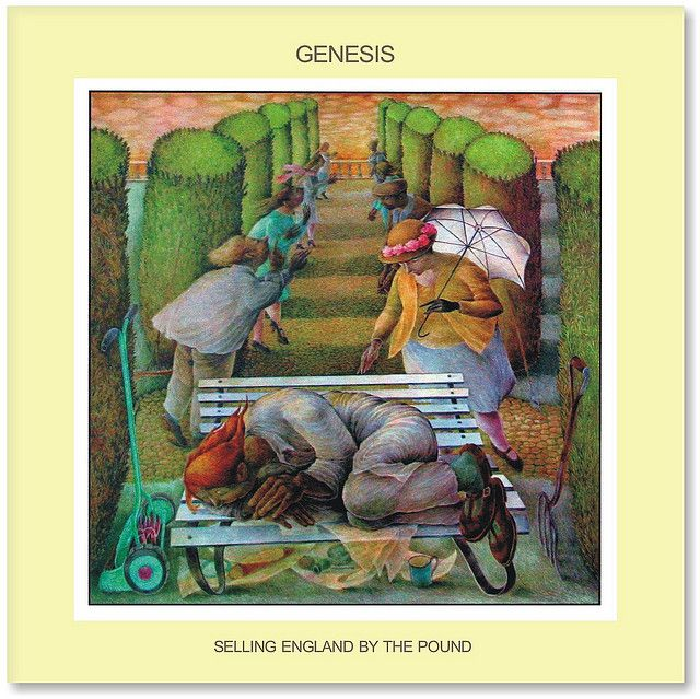 Genesis Selling England By The Pound Art Of Music