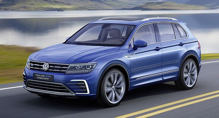 Frankfurt 2015 All New 2016 Volkswagen Tiguan Revealed In Four Versions Auto News Carlist My Volkswagen Suv Tiguan Vw