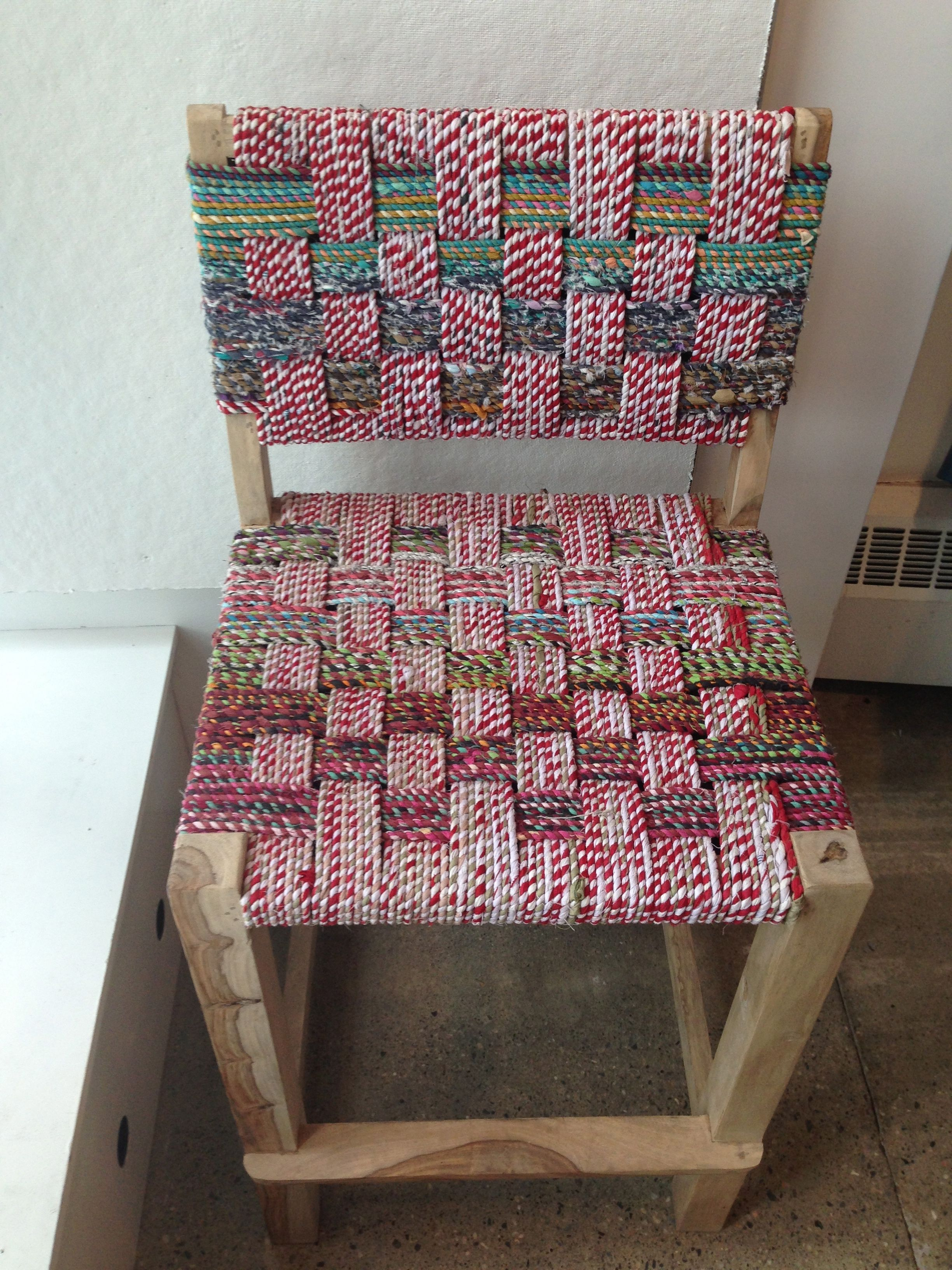Surprising Recycled Sari Stools Genevieves Renovation Kitchen Home Machost Co Dining Chair Design Ideas Machostcouk