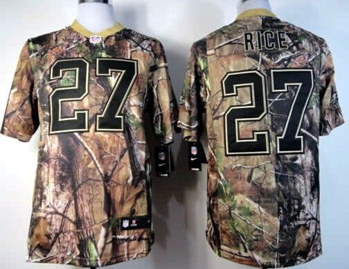 Nike Baltimore Ravens #27 Ray Rice Realtree Camo Elite Jersey