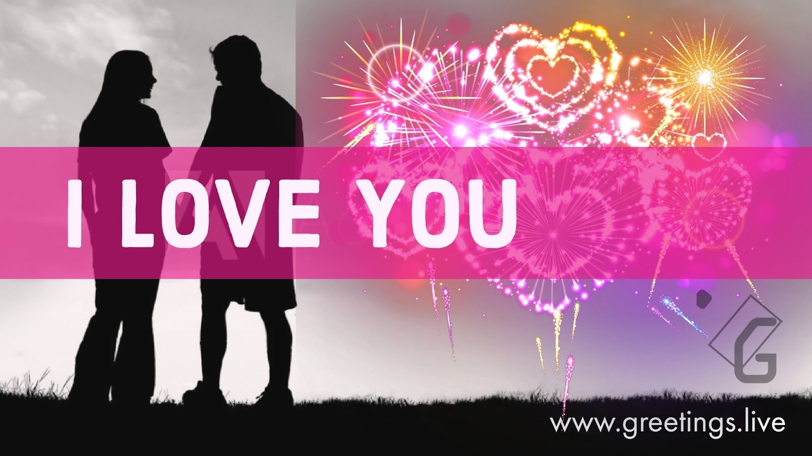 Beautiful love greetings with sparkling love symbols festivals beautiful love greetings with sparkling love symbols kristyandbryce Image collections