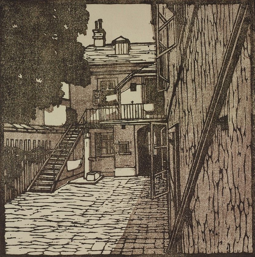Carl Moll, Wiener Werkstätte | Beethoven Häuser; Heiligenstadt  Grinzingerstraße 64 | um 1902 | Albertina, Wien #KunstFürAlle | Art  movement, Art, All art