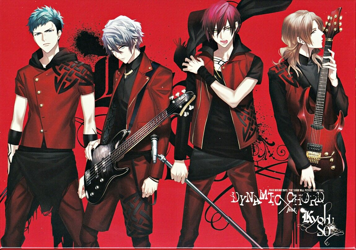 Visual game, singers, Boy band, anime, handsome, cool, red