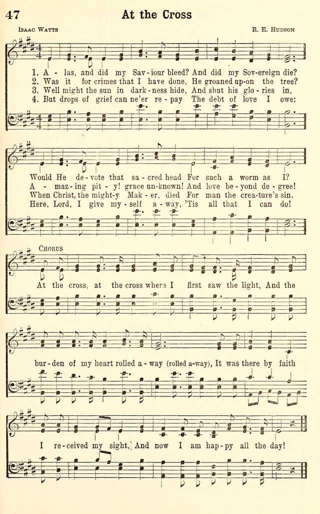 Alas, and Did My Savior Bleed - Hymnary org | SONGS OF