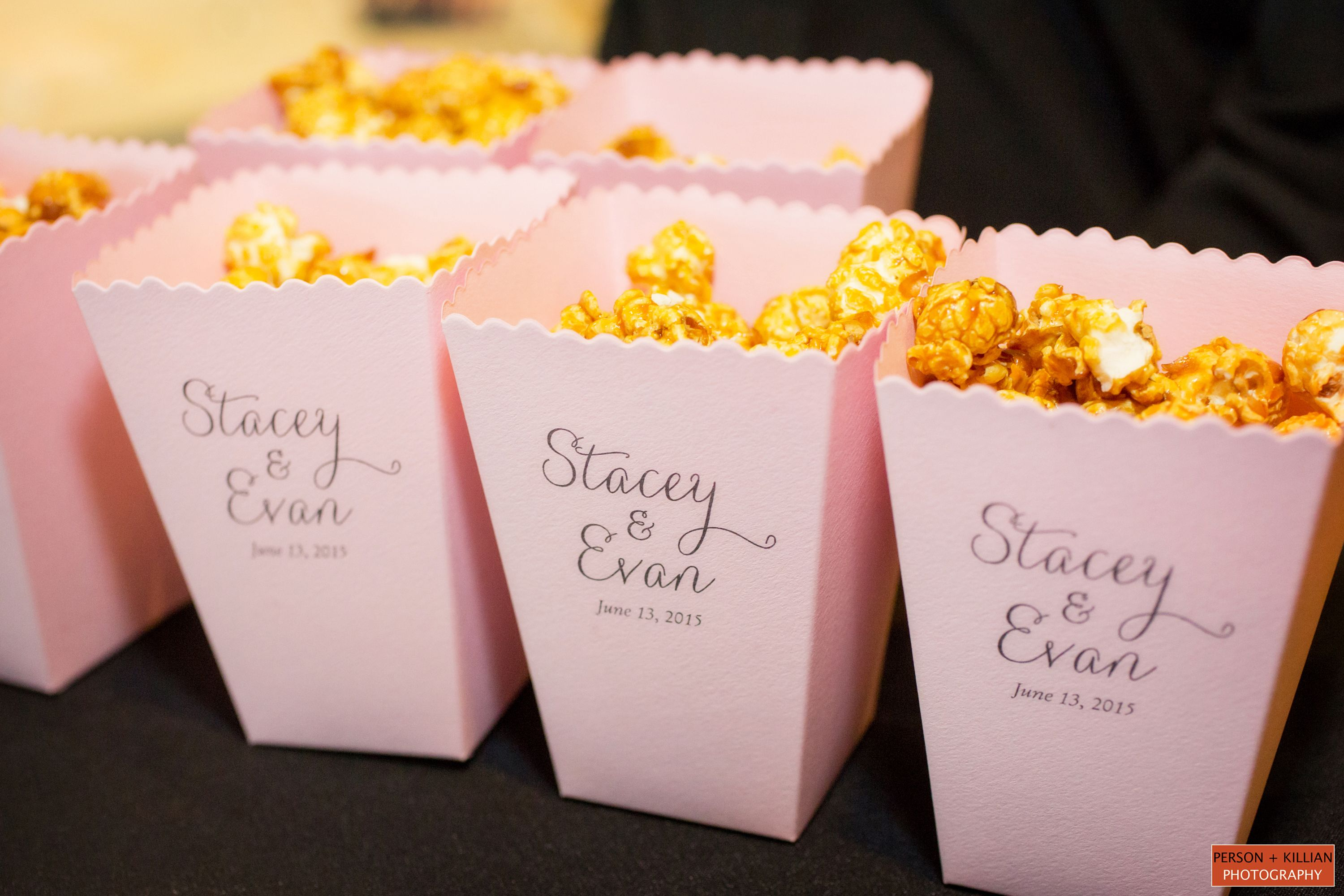 Popcorn For The Ceremony Fun Wedding Favor Inspiration Boston