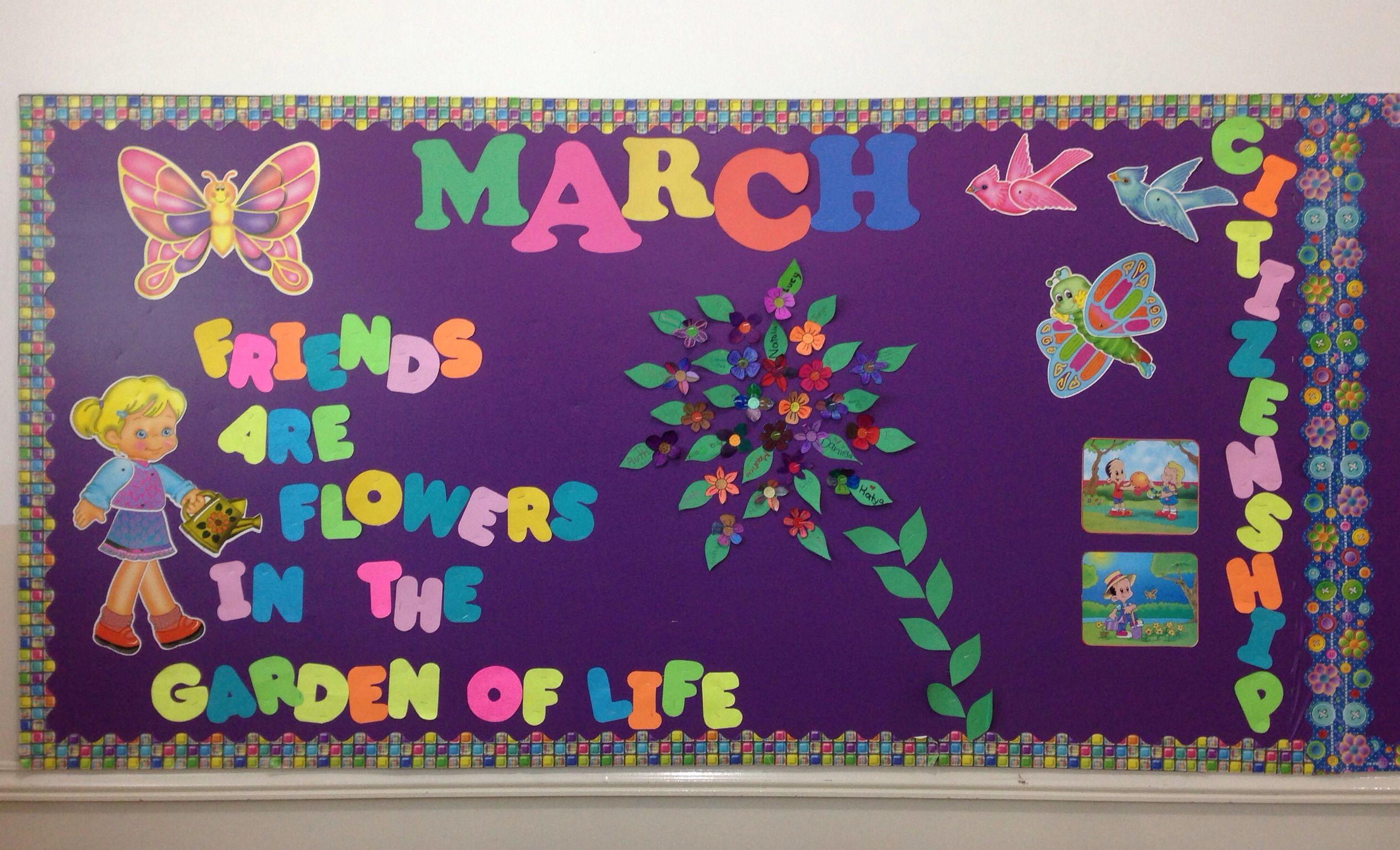 March Bulletin Board Boards