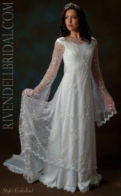 Galadriel Style Dress Beautiful Wedding Dresses Celtic