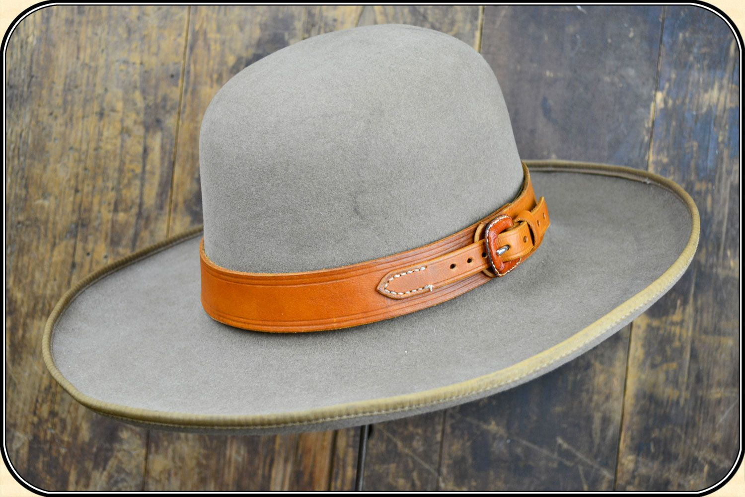 Jb Leather Hatband Leather Hat Bands Hats For Men Leather Hats
