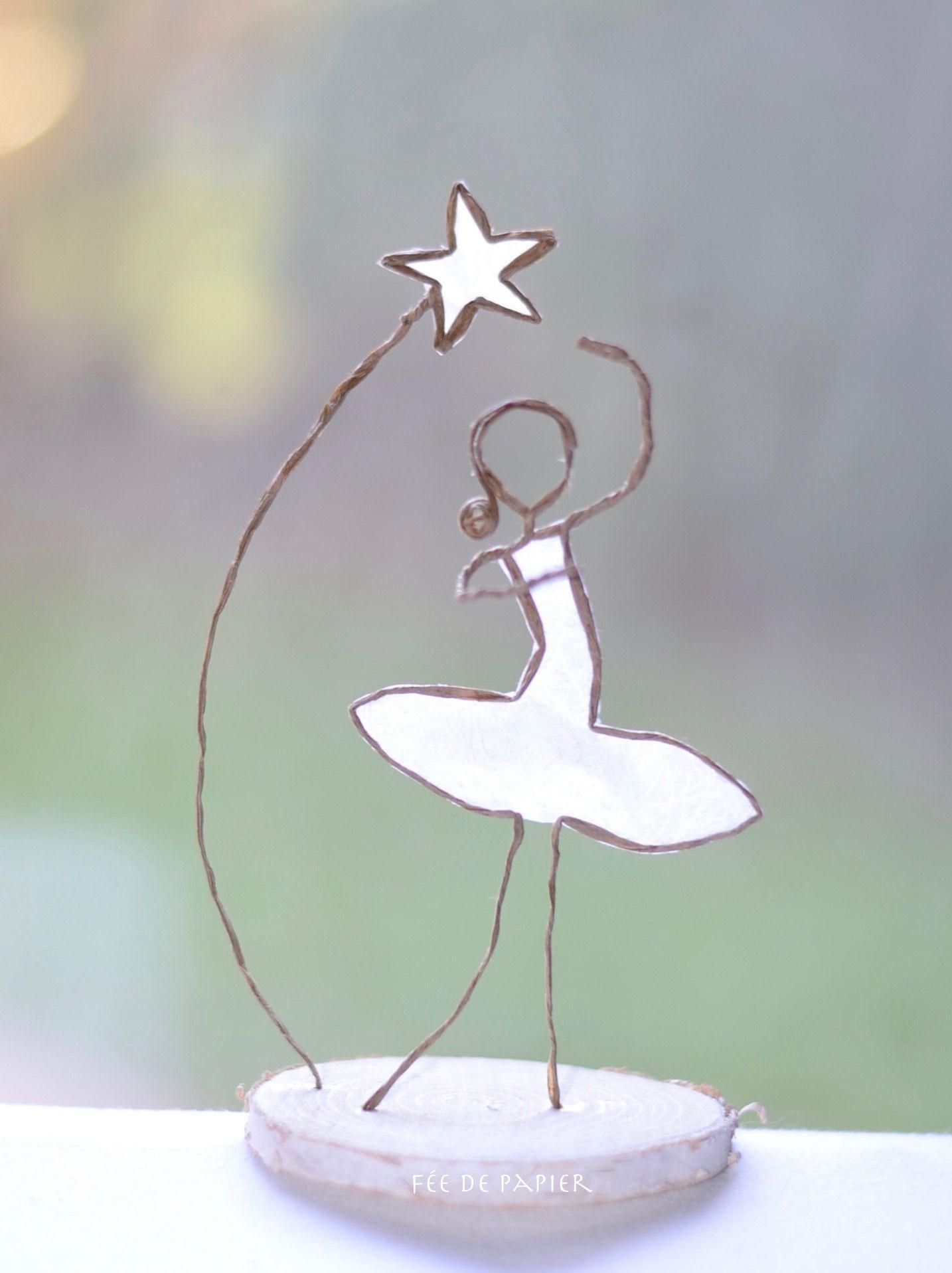 Fée de papier - La danseuse étoile | 40ans | Pinterest | Draht ...