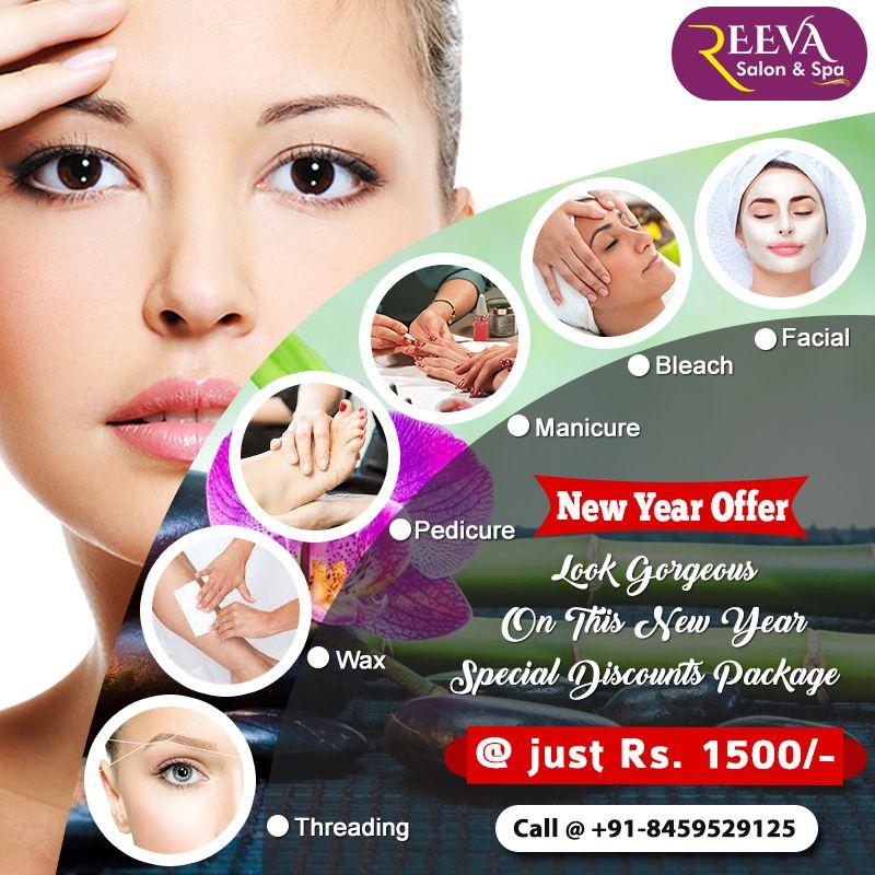 New Year Beauty Offers Facial Spa Facial Waxing Beauty Treatments