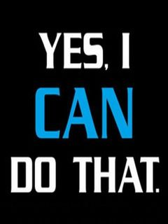 Download Free Yes I Can Mobile Wallpaper Contributed By Mcduffie