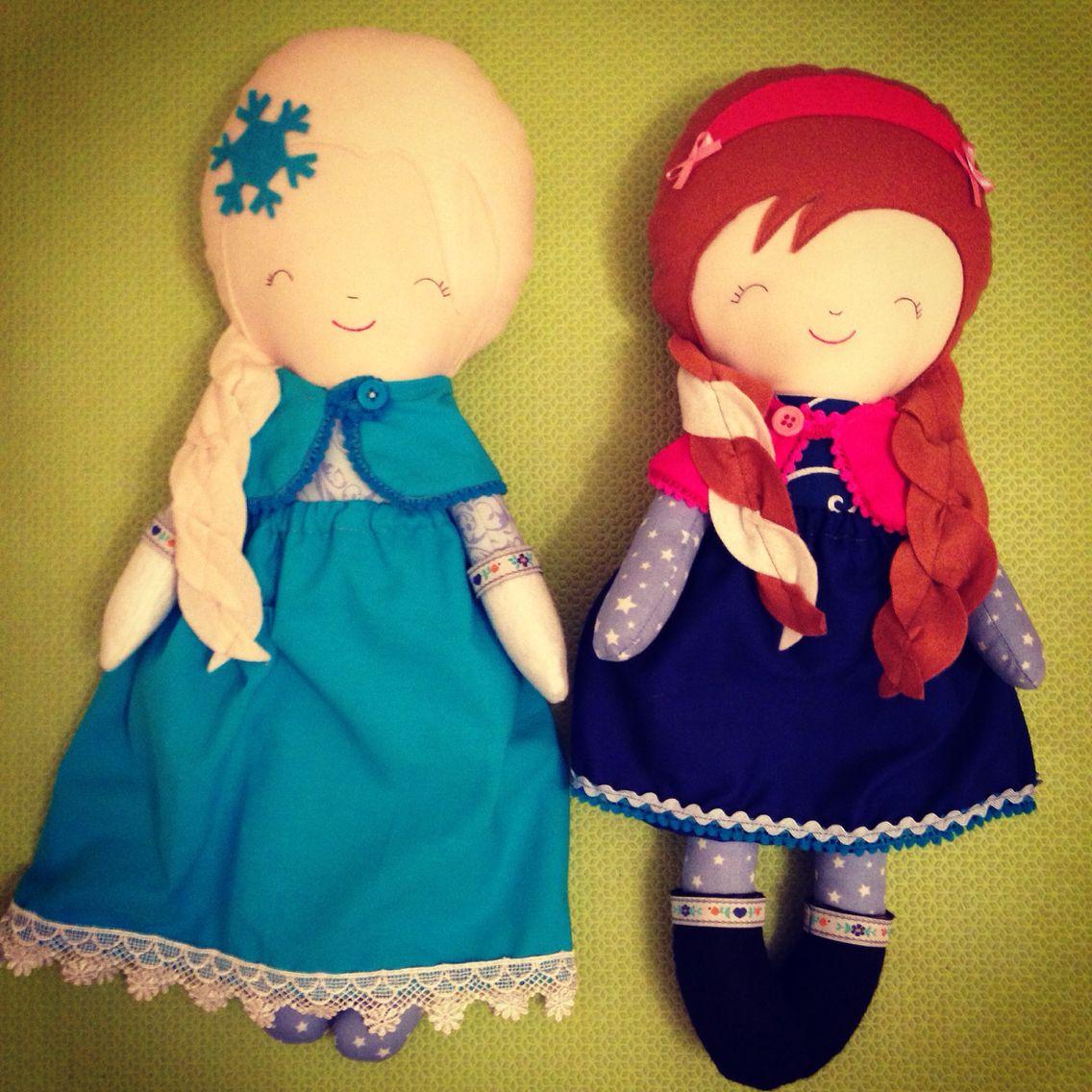 Elsa and Anna! Frozen