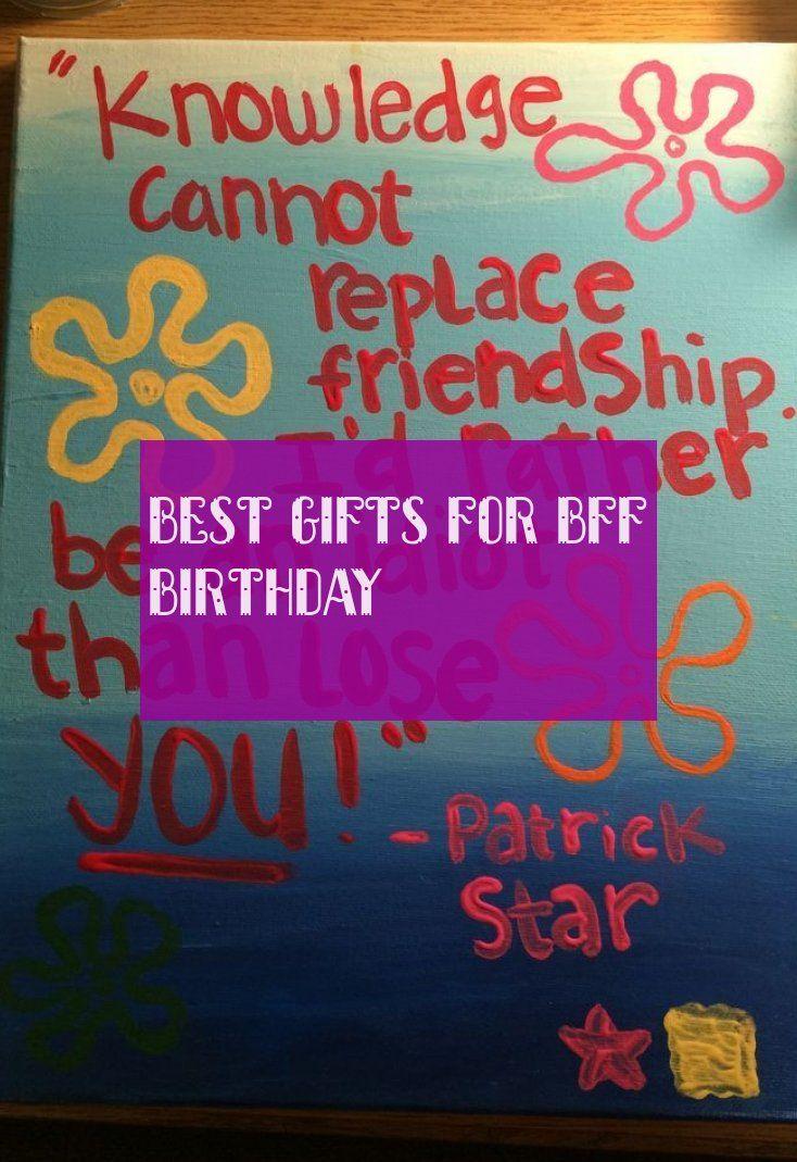 Beste Geschenke Für Bff Geburtstag