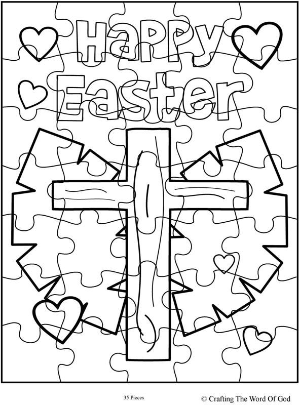 sunday school easter coloring pages - photo#25