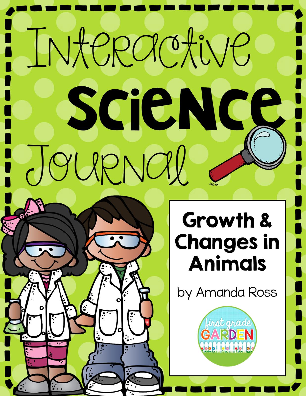 Second Grade Interactive Science Journals