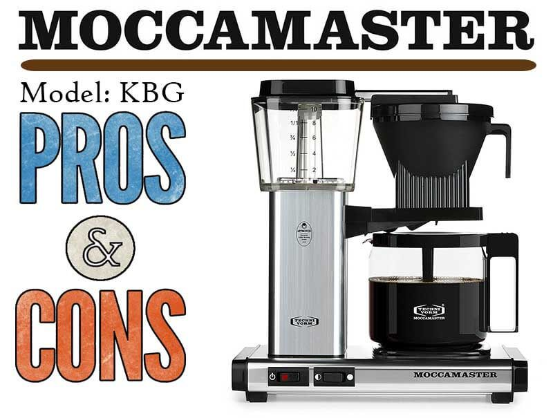 Technivorm Moccamaster Pros and Cons Technivorm