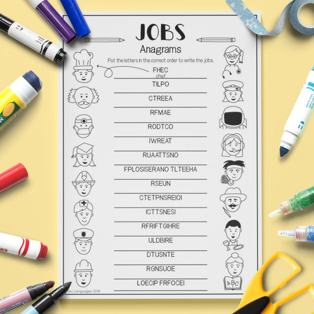 Jobs Anagrams
