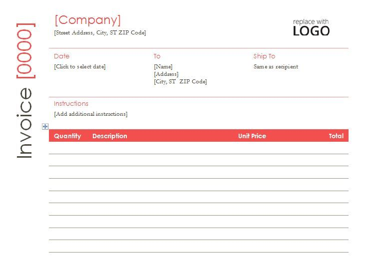 Contractor Invoice Template My Favorite Internet word Templates - contractor invoice template