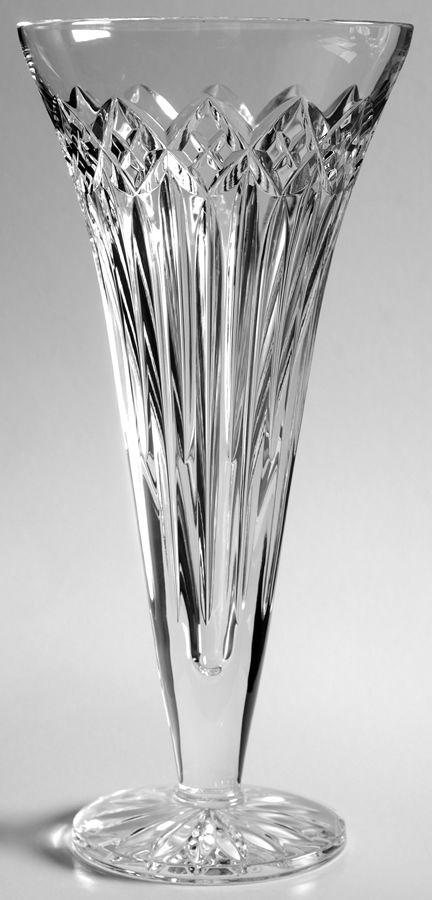 Waterford Crystal Quinn Lane Flower Vase Crystal Glassware Crystal Figurines Crystal Vase