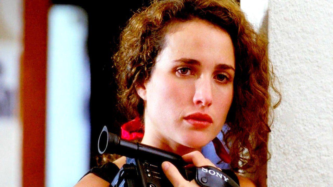 """Andie MacDowell in """"Sex, Lies, and Videotape"""" (Steven Soderbergh, 1989)"""