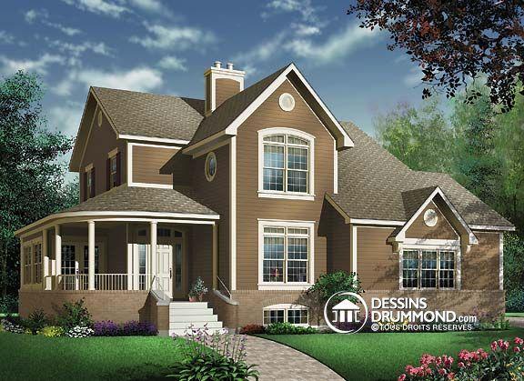 W2884A - Maison de campagne ou champêtre, 4 chambres, garage double
