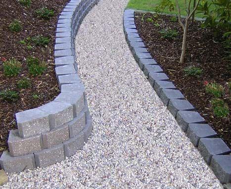 Garden Edging Blocks Google Search Concrete Garden