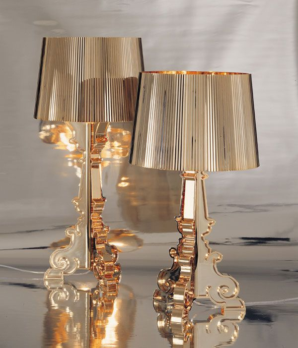 bourgie lampe i guld fra kartell tk lounge pinterest lighting design lights and house. Black Bedroom Furniture Sets. Home Design Ideas