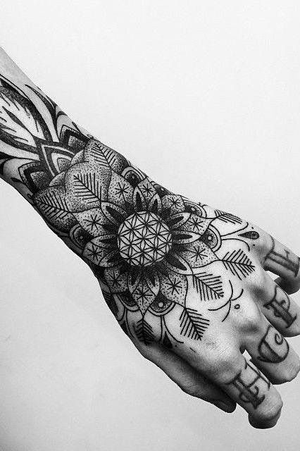5f7a1f989 Pin by Beautiful Tattoos And More on Maori tattoos | Hand tattoos, Mandala  tattoo design, Mandala tattoo