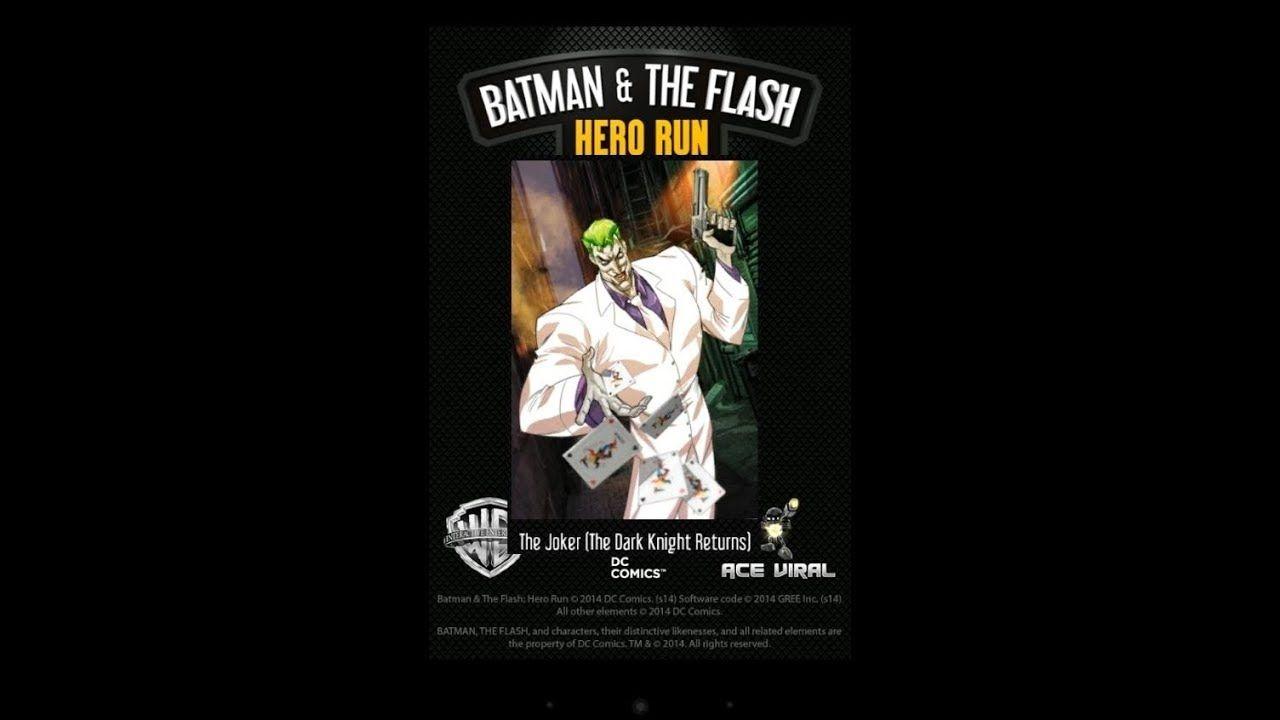 Joker The Reformed Joker Hero Run Dark Knight Returns