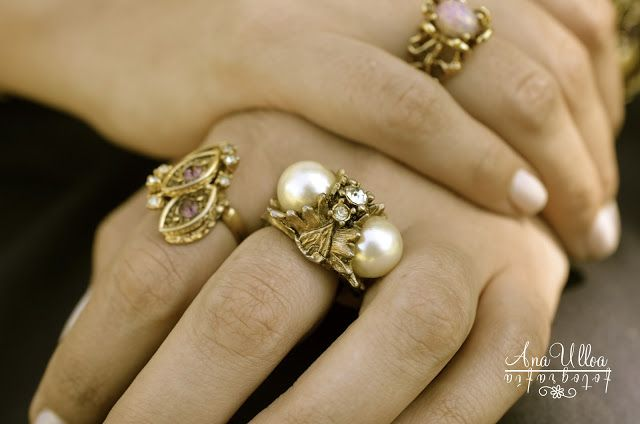 Vintage Rings It´s Pretty Perfect with Ana Ulloa