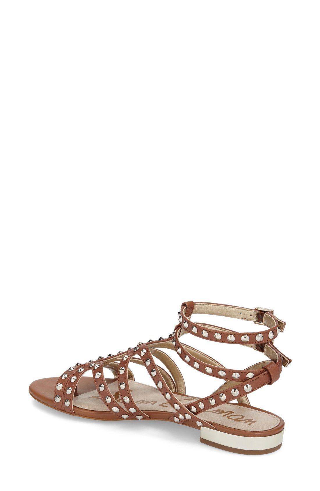 Sam Edelman Demi Studded Flat Sandal Women Sandals Flat Sandals Nordstrom