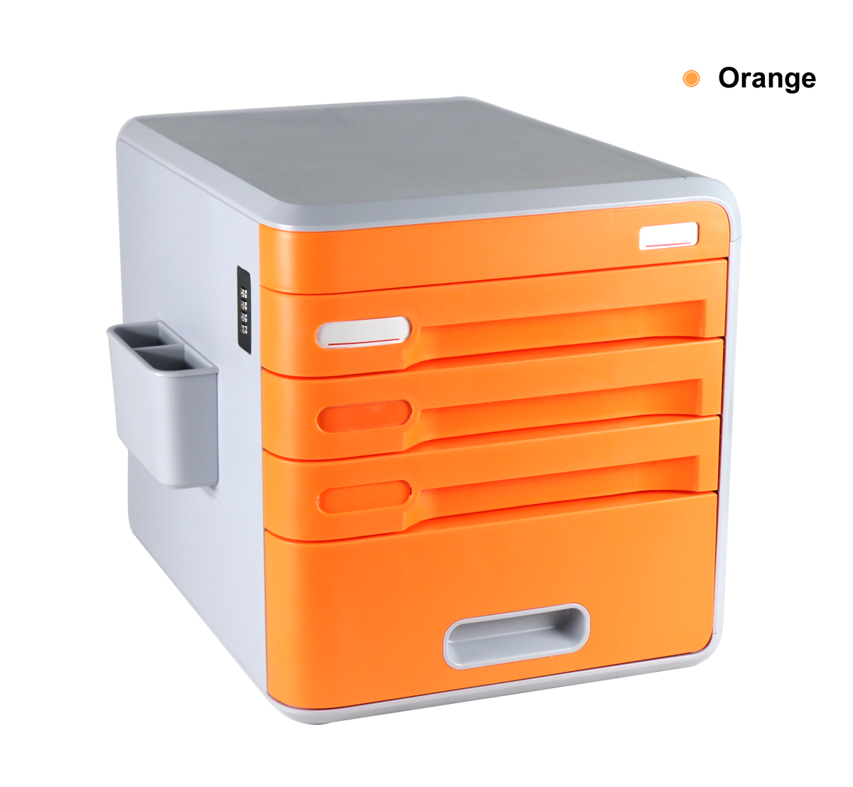 Lockable Desk Storage Drawers, Desktop Organizer 4 Drawer ...