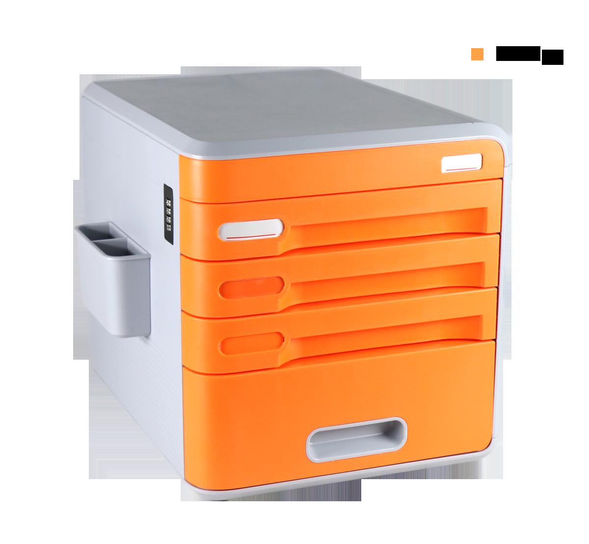 Lockable Desk Storage Drawers, Desktop Organizer 4 Drawer ...