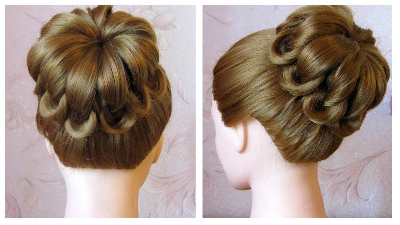 tuto coiffure simple cheveux mi long long chignon tress facile coiffure tresse en noeuds. Black Bedroom Furniture Sets. Home Design Ideas