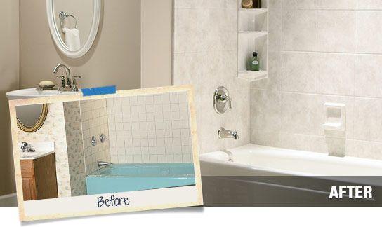 Home Depot Affordable Shower Tub Transformation Shower Remodel