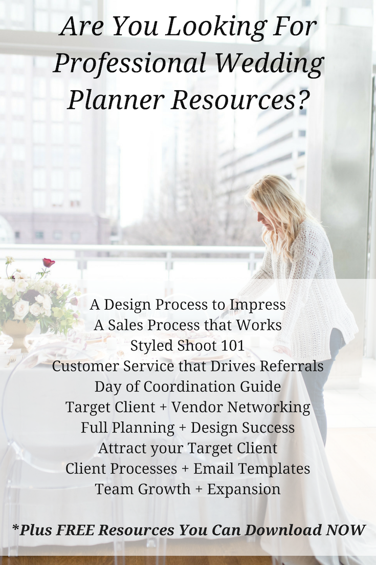 Wedding Planning Resources For Brides And Wedding Planners In 2019