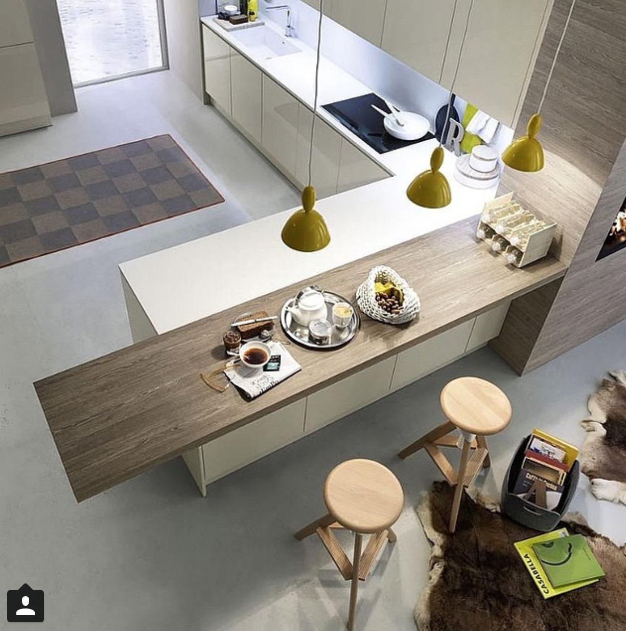 Bancada....altura, diferença material | Dom i Wnętrza | Pinterest ...