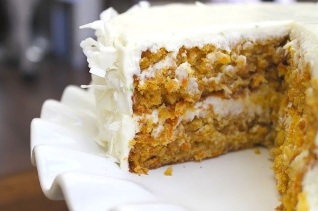 Tropical Carrot Cake | The Little Epicurean