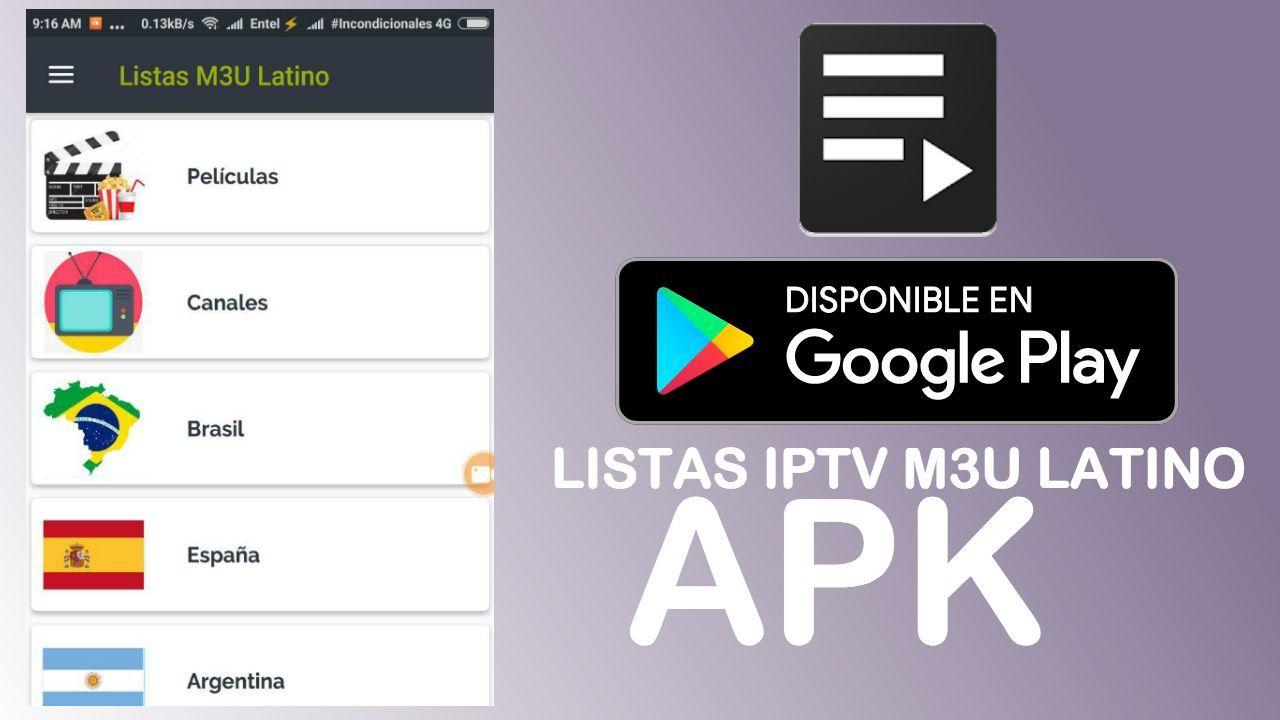 Listas M3u Actualizadas Listas M3u Latino 2018 Lista Remota M3u 2018 Listas Iptv 2018 Lista De Canales M3u 2018 Listas M3u Iptv Li App Google Play Google