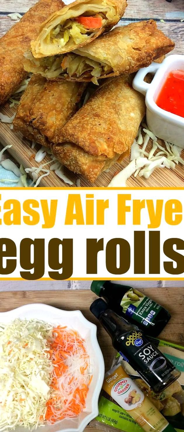 Air fryer egg rolls are a must if you love your new