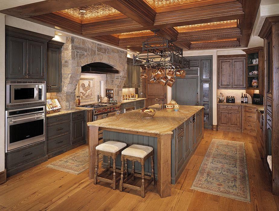 Modern Tuscan Kitchen Photo