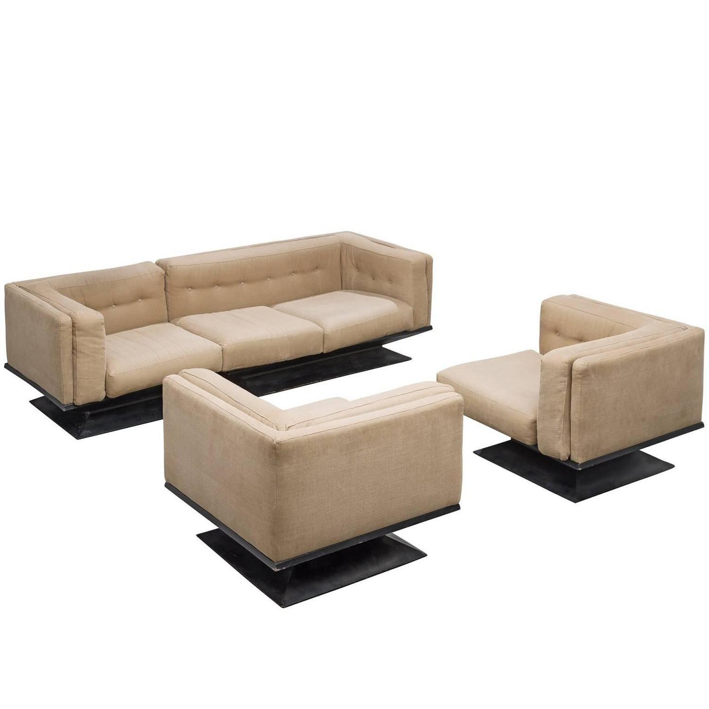 Lounge Set by Luigi Pellegrin for MIM Roma | Luigi, Living room sets ...