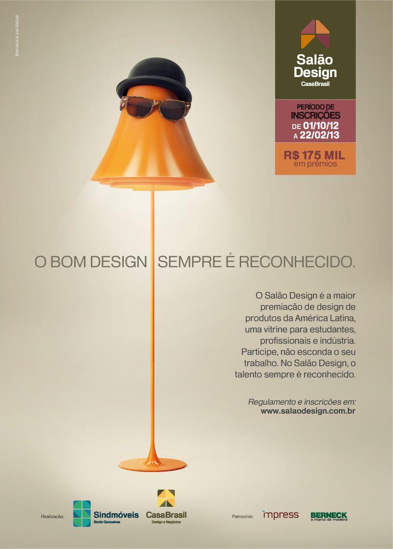 Faça o download do catálogo virtual dos premiados e selecionados no Prêmio Salão Design 2013.