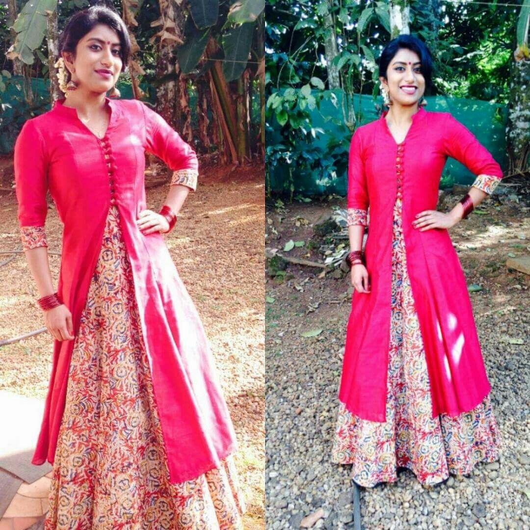 Kalamkari | Lehenga | Pinterest | Kurtis, Mehndi outfit and Indian ...