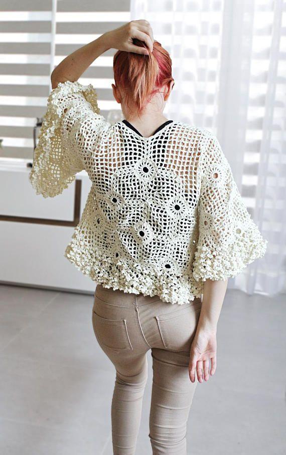 Crochet Blouse Pattern Patterns Pinterest Crochet Hooks