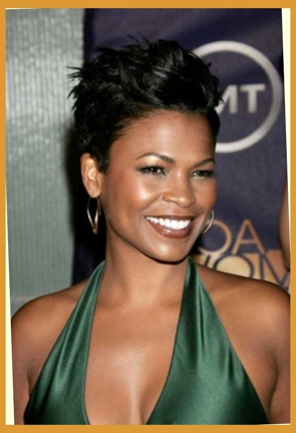 Nia Long Short Hairstyles Images Ideas Top Guide Hairstyle 2016