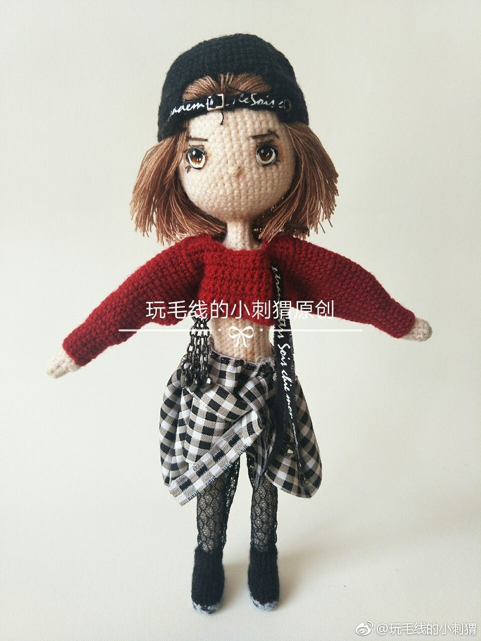 Dutch Girl🌷Lotte done by participant of Weibo crochet activity ... | 1280x960
