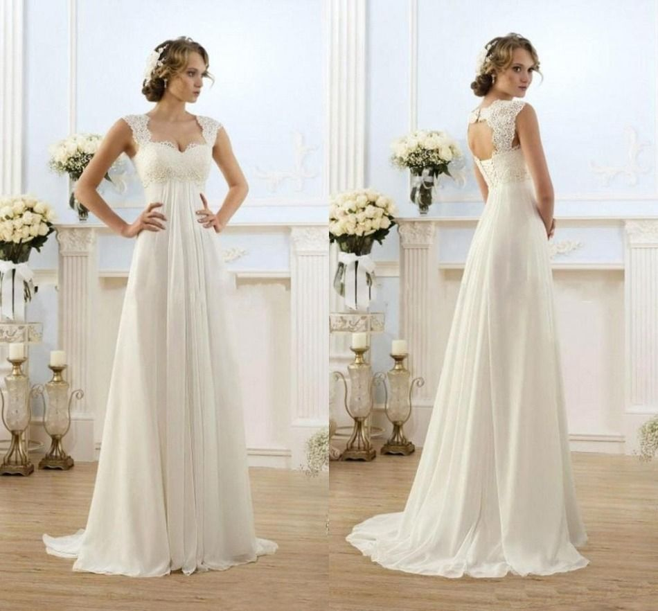 Plus size white wedding dress  Resultado de imagen para rustic wedding dress  Vestido  Pinterest