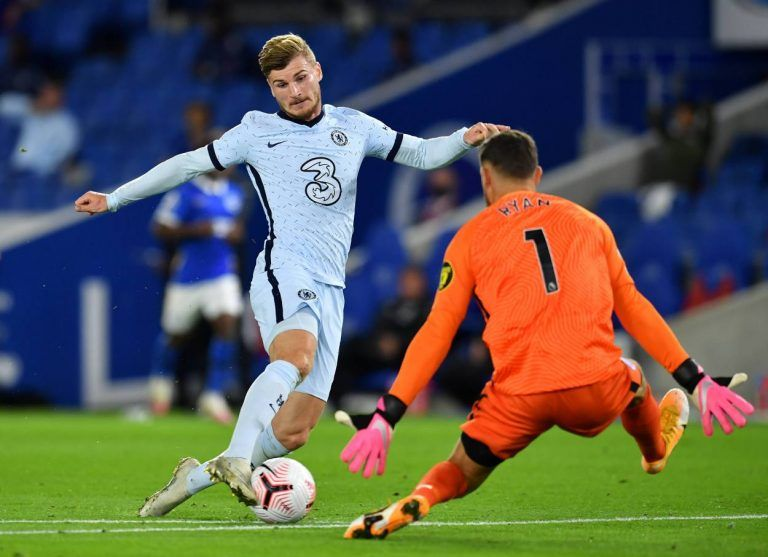 Frank Lampard Praises Timo Werner After Brighton Win Chelsea Video Chelsea Sport Football